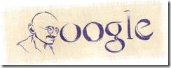 Google Doodle On Mahatma Gandhi's Birthday